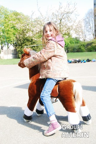 Ponycycle Enfant marron